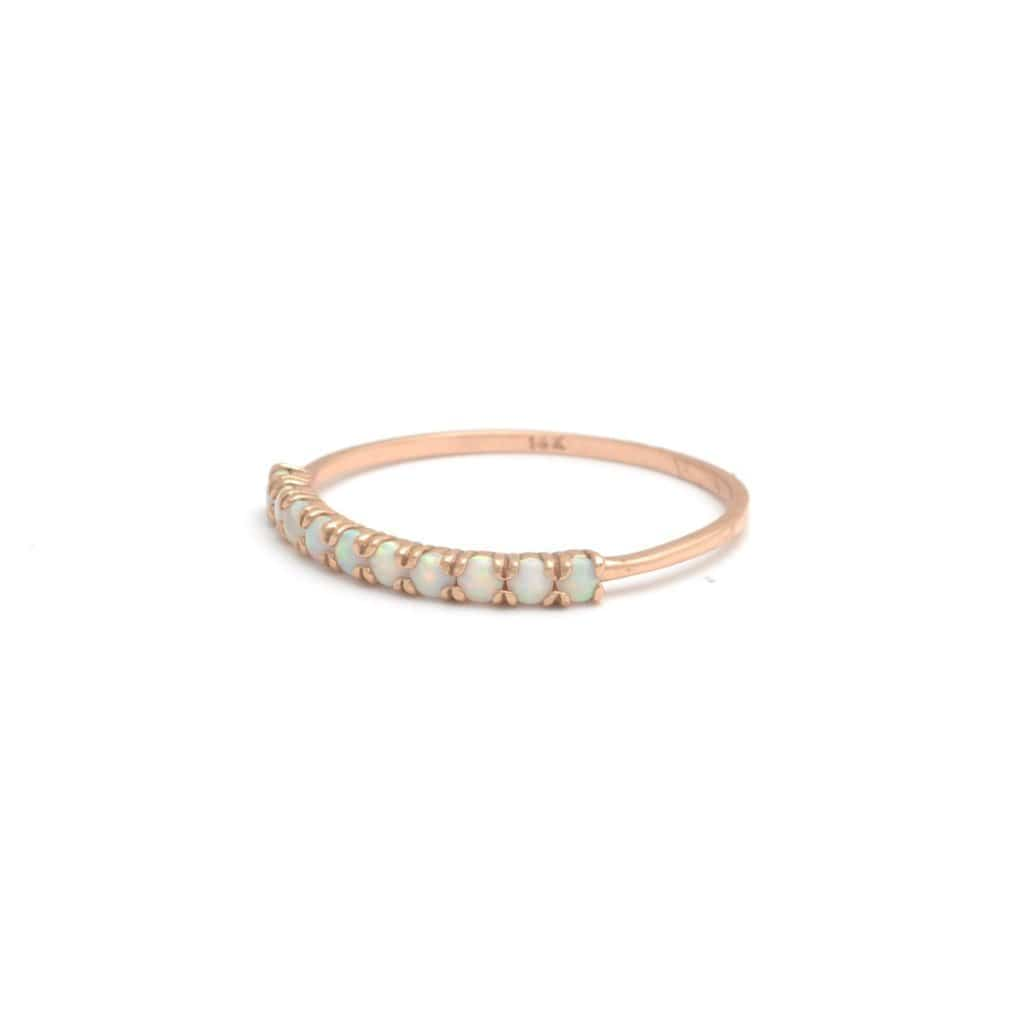 Stacking Opal Ring