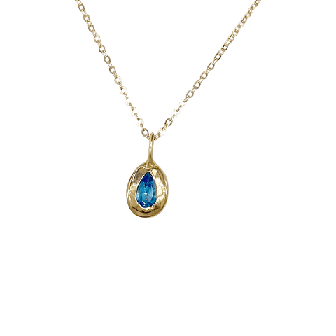 Sun Charm With Golden Stone