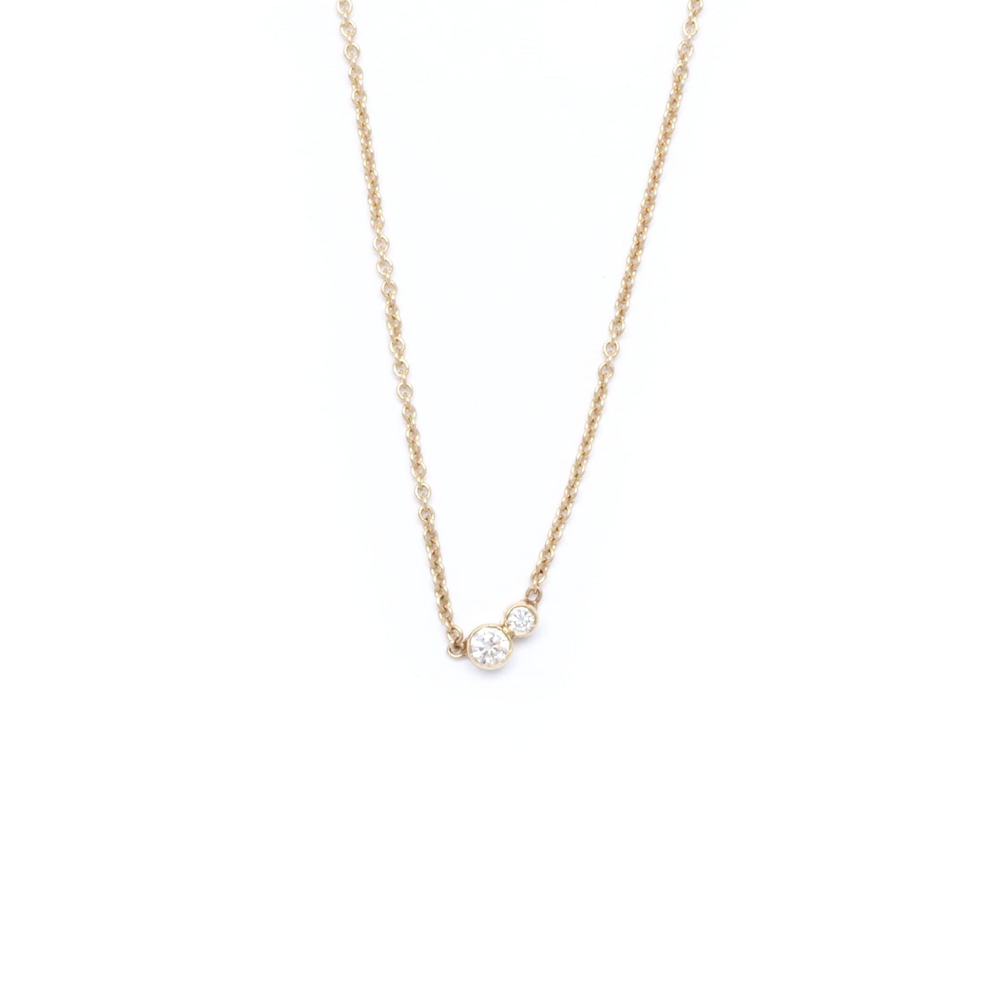 diamond coin roberto station necklace