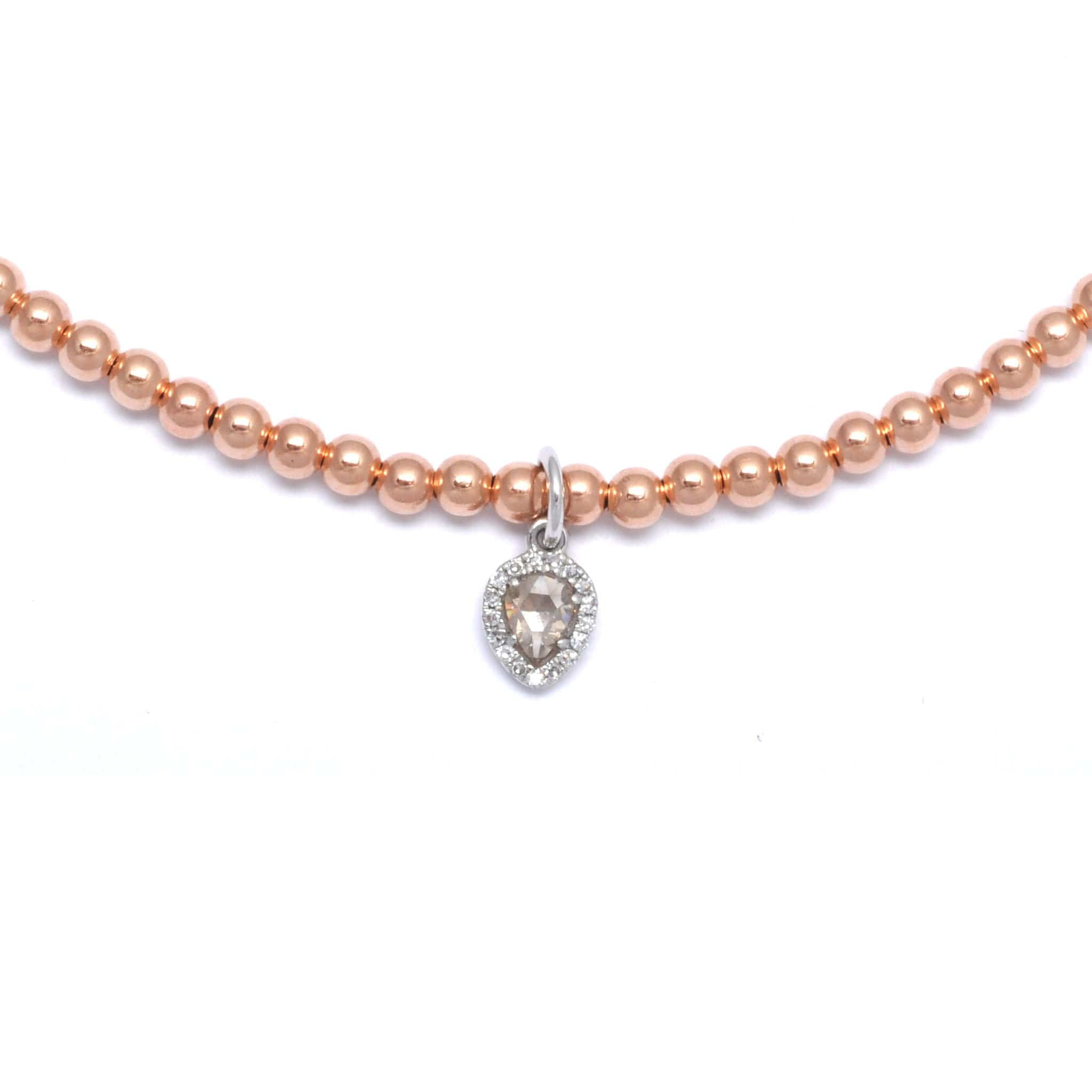 balluccitoosi rose necklace product solitaire floating gold diamond