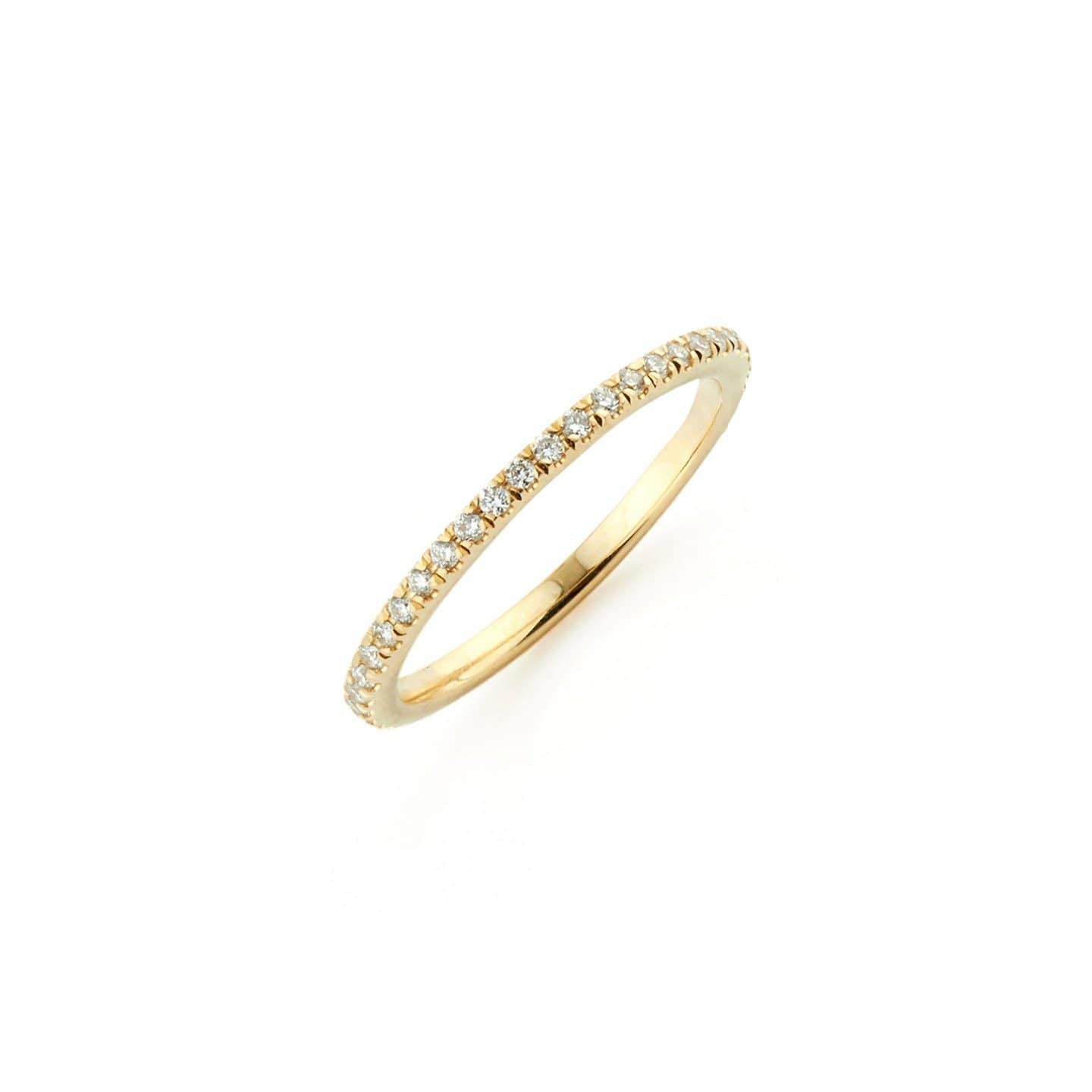 18k eternity diamond ring