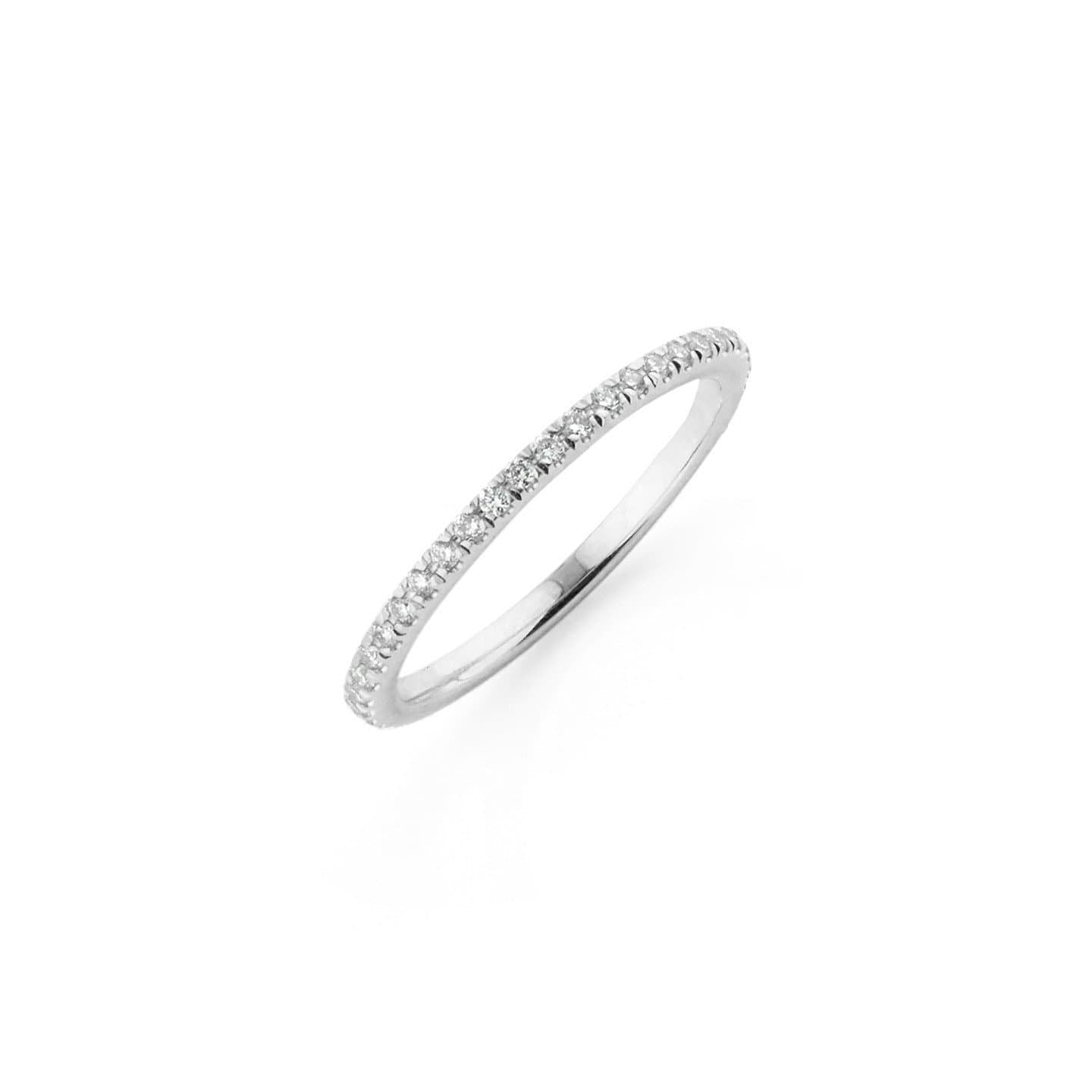 Eternity Diamond white Gold Ring