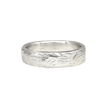 "Sterling Silver ""Dockside"" Stacking Ring"
