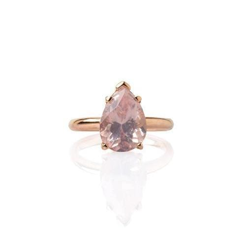 pear shape ring