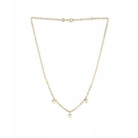 Free Form Diamond Halo White Gold Necklace