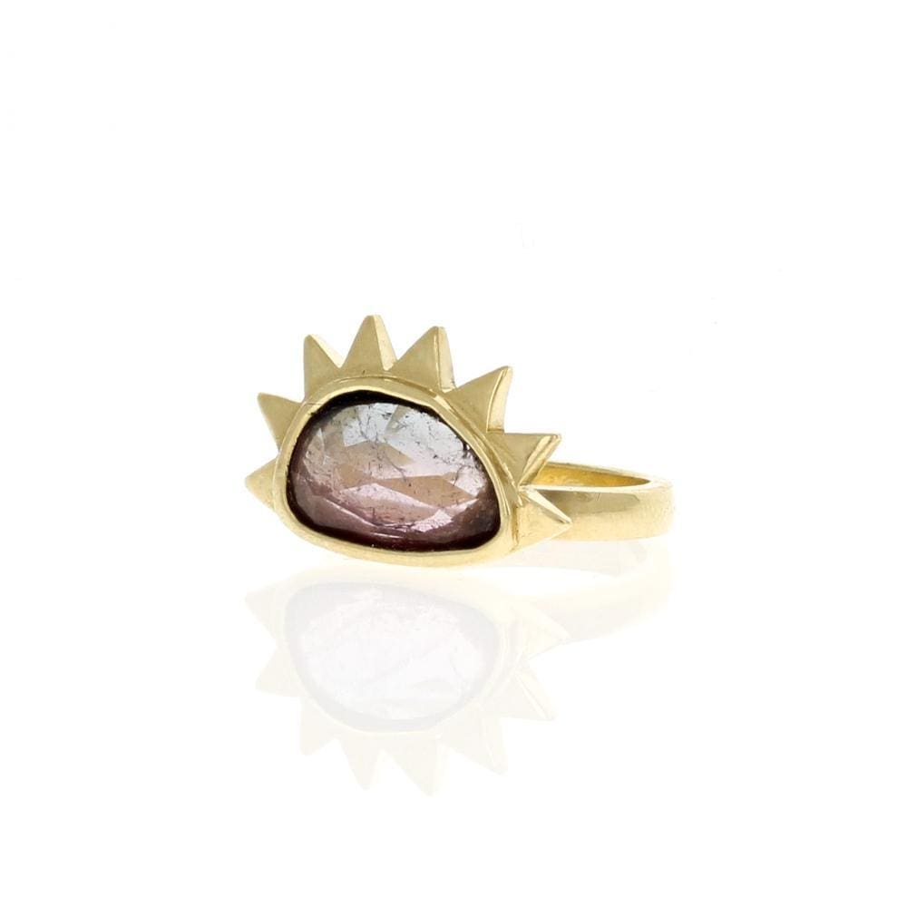 Tourmaline Sunrise Cocktail Ring