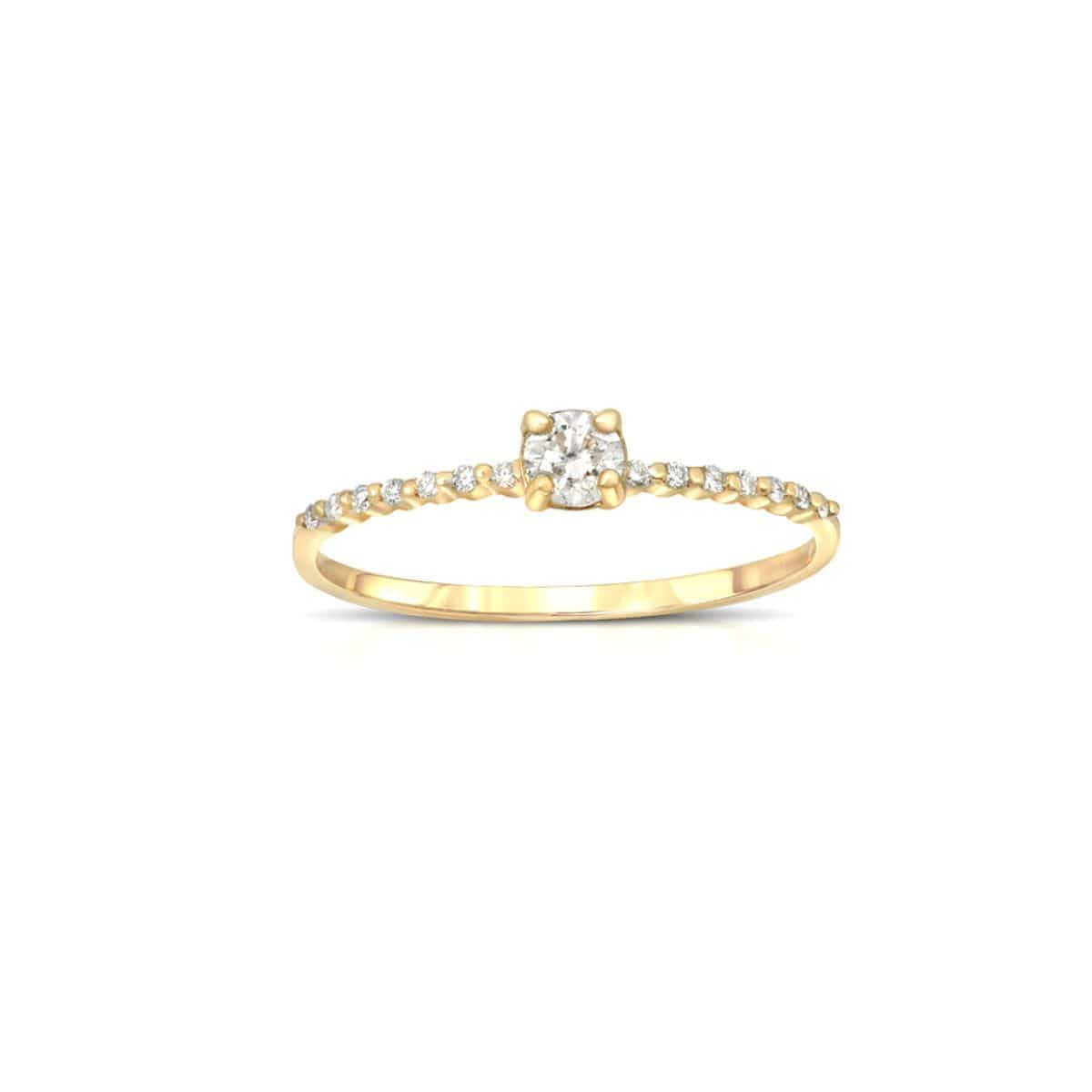round diamond engagement ring pave diamonds letreaime