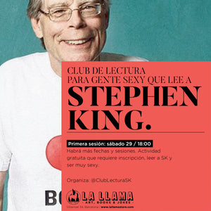 Club de lectura para gente sexy que lee a Stephen King
