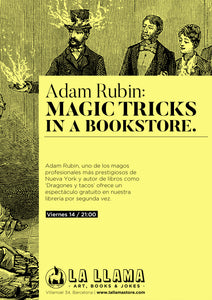 Adam Rubin: Magic tricks in a bookstore