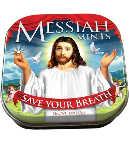 Mints: Messiah saves your breath