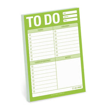 "Bloc de notas adhesivas: ""To do"""