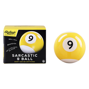 Sarcastic 9 Ball x Ridley's