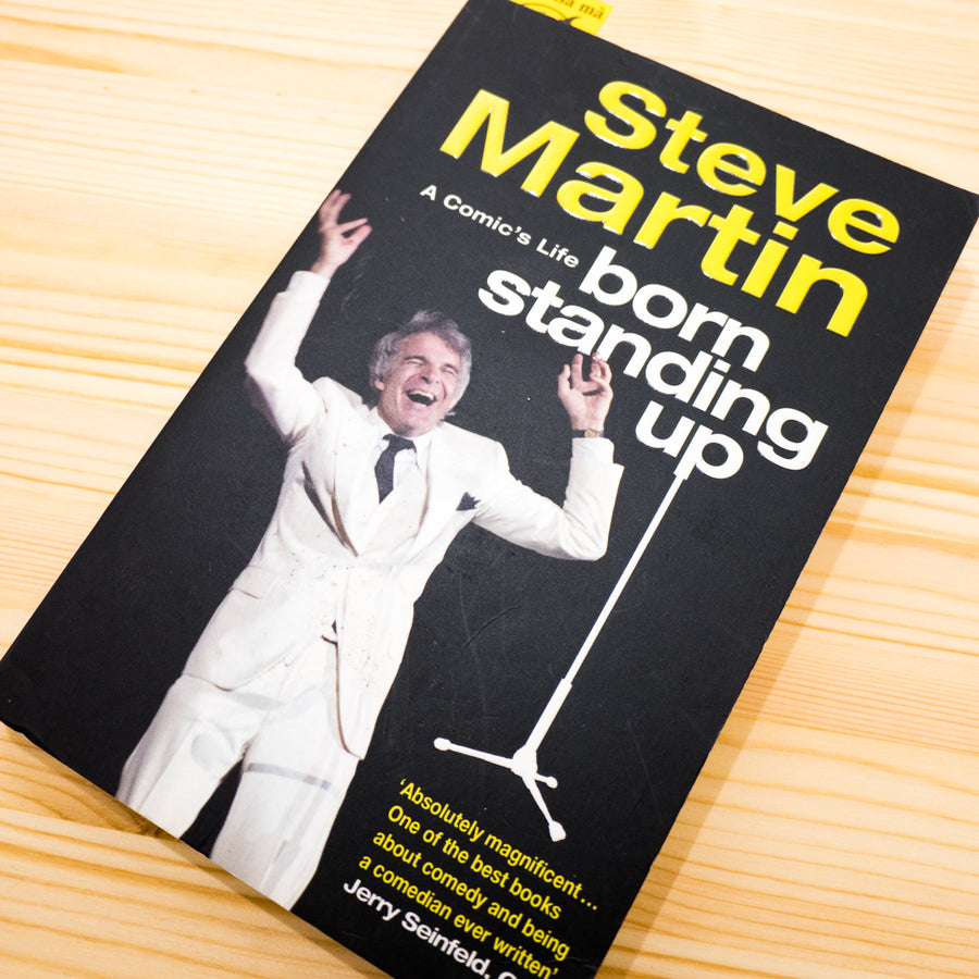 STEVE MARTIN | A comic's life. Born standing up.*