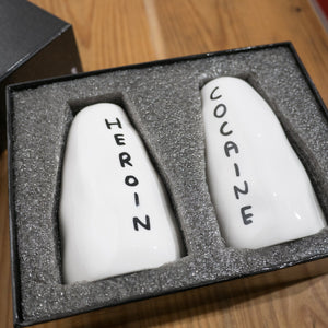 Cocaine and Heroin Shakers x DAVID SHRIGLEY