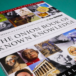 THE ONION | The Book of known Knowledge