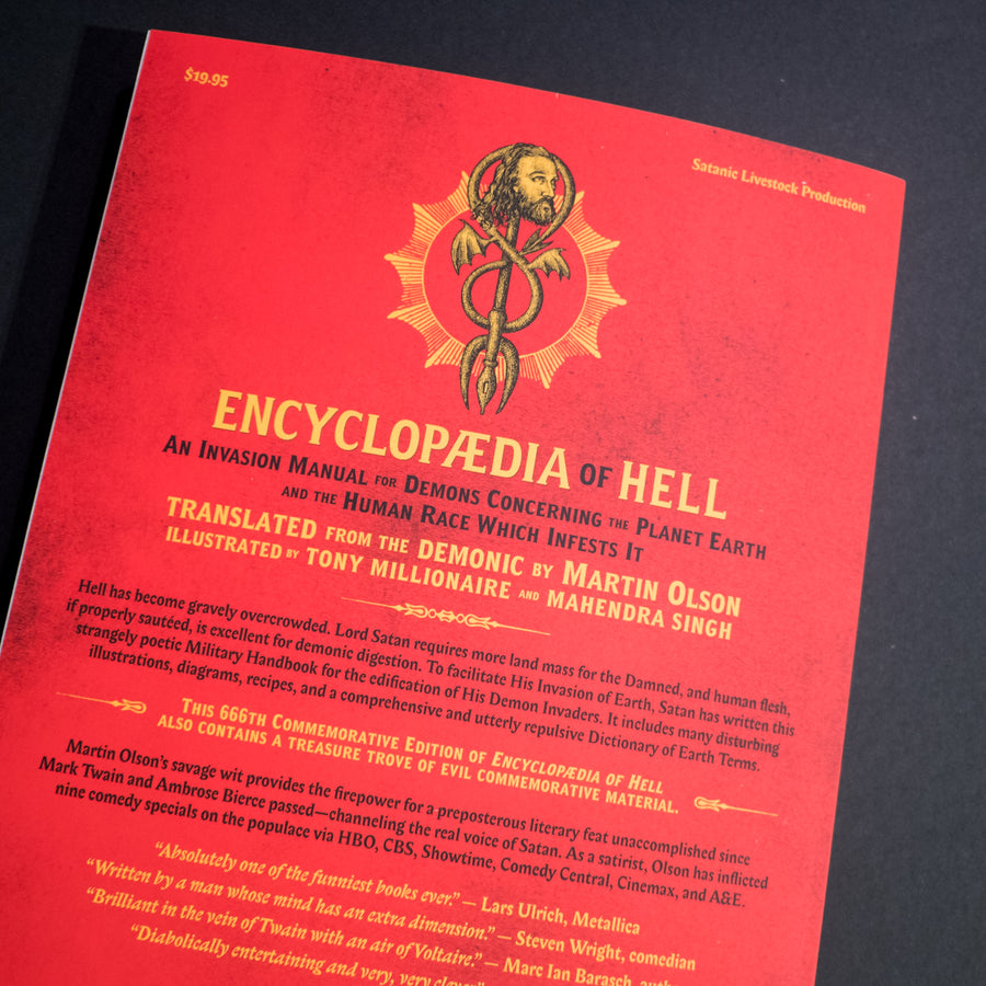 MARTIN OLSON | Enciclopedya of Hell. An Invasion Manual for Demons Concerning the Planet Earth and the Human Race Which Infests It