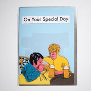 MODERN TOSS | Postal de 'On your special day'