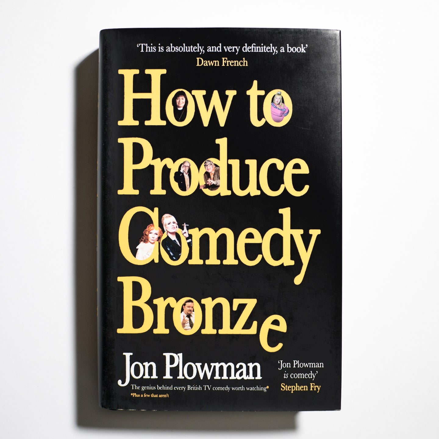 JON PLOWMAN | How to produce comedy bronze.