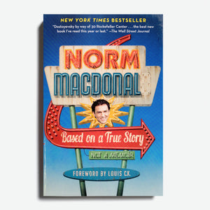 NORM MACDONALD | Based on a True Story: Not A Memoir