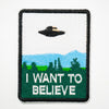 "Parche ""I want to believe"""