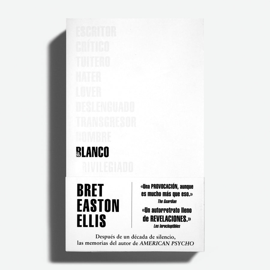 BRET EASTON ELLIS | Blanco