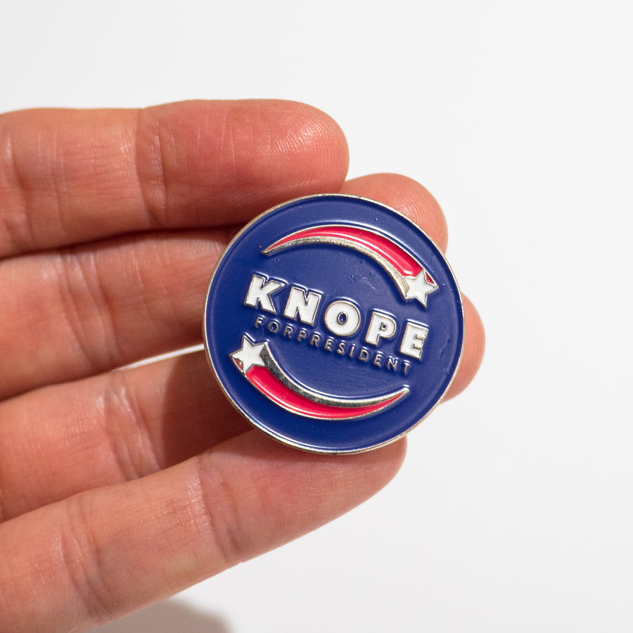 Pin de Knope for President