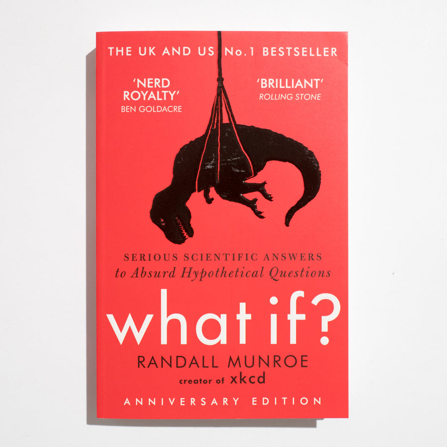 RANDALL MUNROE | What if? Serious scientific answers to Absurd Hypothetical Questions