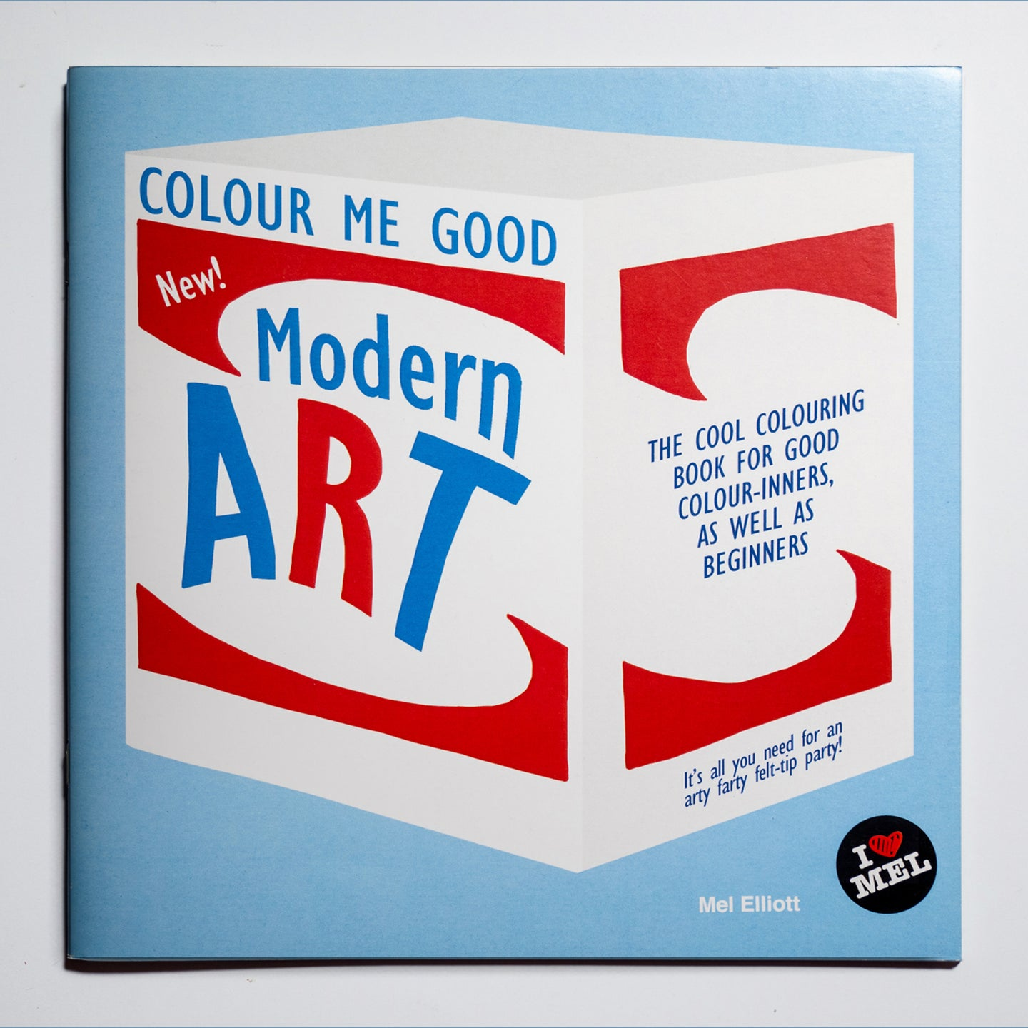 Colour me good: libro de colorear de piezas de arte moderno