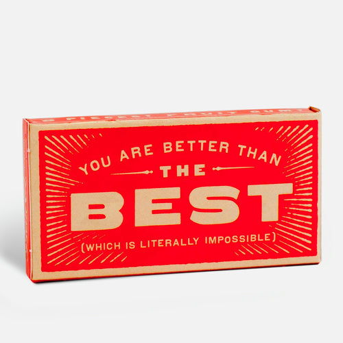 "Chicles ""You are better than the best"""