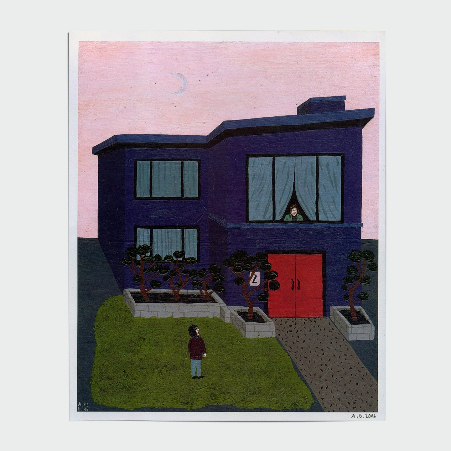ANGELA DALINGER | Blue House