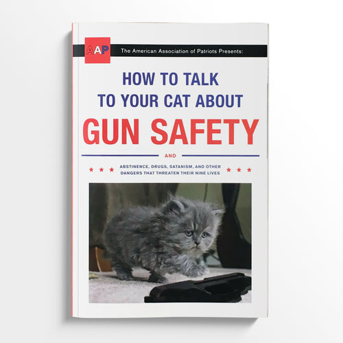 ZACHARY AUBURN | How to Talk to Your Cat About Gun Safety