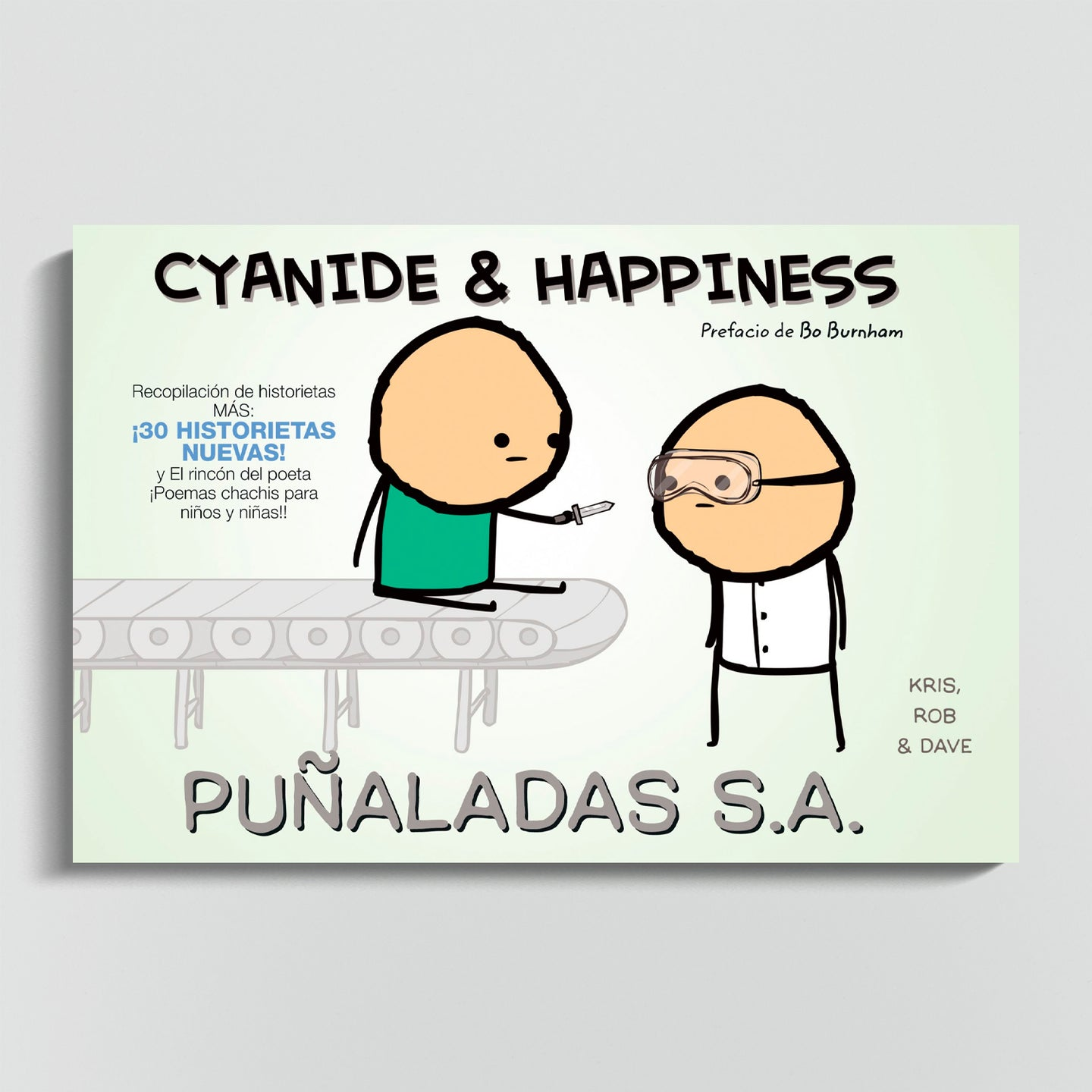 CYANIDE & HAPPINESS | Cyanide & Happines: Puñaladas S.A.