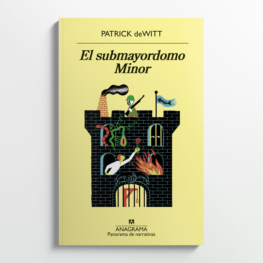 PATRICK DEWITT | El submayordomo Minor