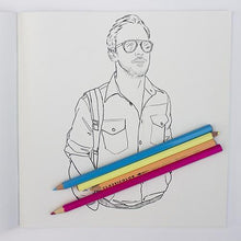 Colour me good: libro de colorear de Ryan Gosling