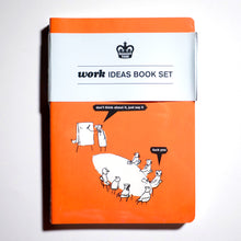"MODERN TOSS | 3 libretas ""Work Ideas Book Set"""