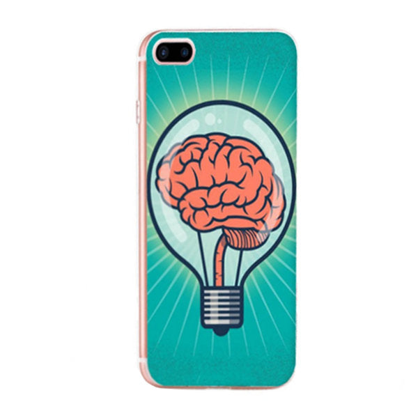 Coque silicone pour smartphone iPhone