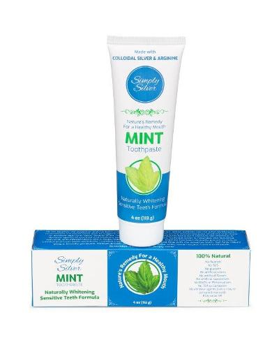 Simply Silver Toothpaste Mint Flavor