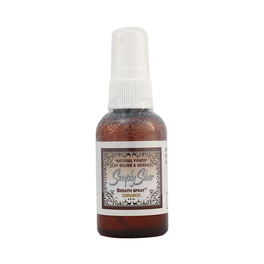 Simply Silver Breath Spray (Cinnamon Flavor)