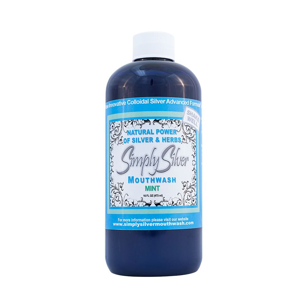 Simply Silver Mouthwash Peppermint