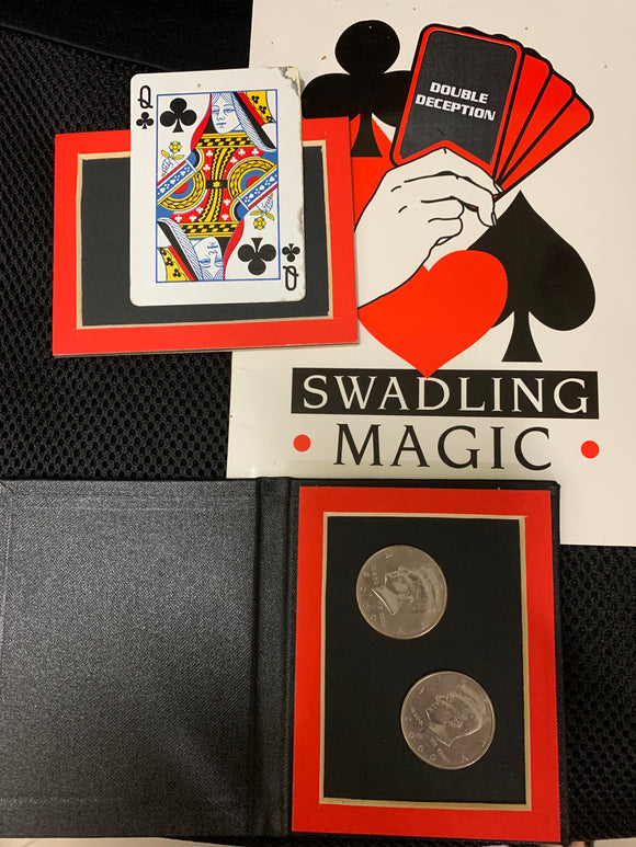 DOUBLE DECEPTION - By: Swadling Magic (old stock please read notes! DISCOUNTED!))