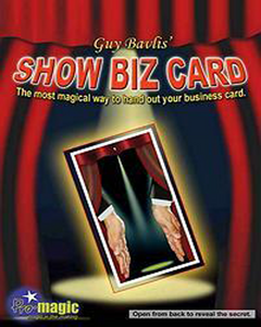 Show Biz Card By Pro Magic