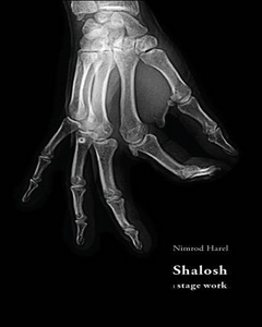Shalosh Stage Work Book Cover By Nimrod Harel