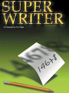 SUPER WRITER - (Writer only - Dark pencil)