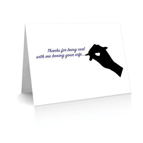 Metamour Thank You Greetinng Card | Polycute Gift Shop