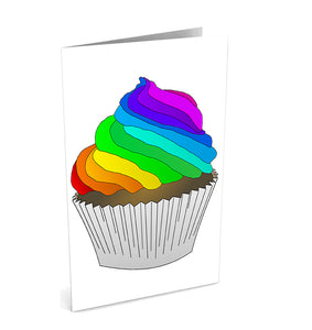 Cupcake Love Greetinng Card | Polycute Gift Shop