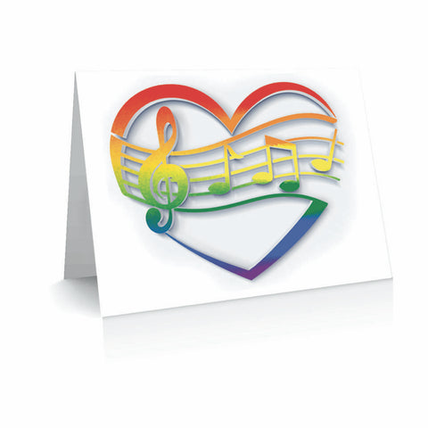 Singing Heart Greetinng Card | Polycute Gift Shop