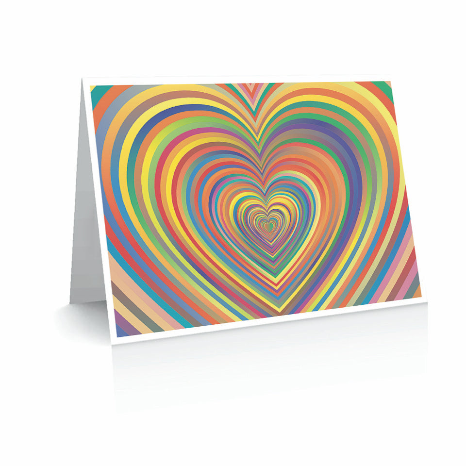Colorful Heart Valentine