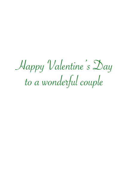 Metamour Valentine Greeting Card (inside text) | Polycute Gift Shop