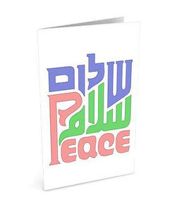 Peace - Open Love Greetinng Card | Polycute Gift Shop