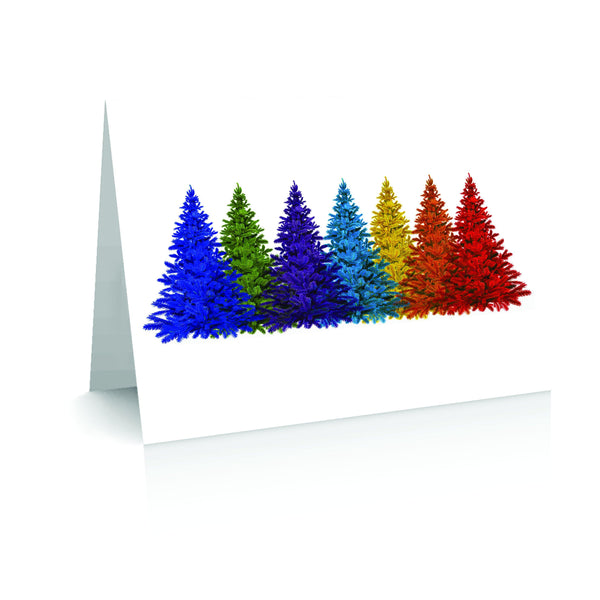 Christmas Pride Forest (Pack of 10) Greetinng Card | Polycute Gift Shop